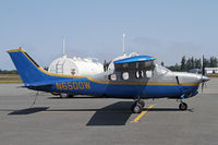 N6500W @ CLM - Sharp looking pressurized Cessna 210 - by Duncan Kirk