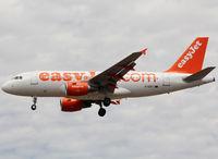 G-EZFJ @ LFBO - Landing rwy 32L - by Shunn311