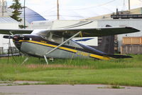 C-FQST @ CYYC - 1961 Cessna 180D, c/n: 18050994 at Calgary - by Terry Fletcher