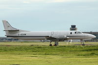 C-GCAW @ CYYC - 1980 Swearingen SA226-TC, c/n: TC358 at Calgary