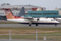 C-GPAR @ CYYT - Provincial Airlines DHC 8-300 - by Andy Graf-VAP