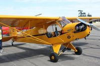N42144 @ KLPC - Lompoc Piper Cub fly in 2010 - by Nick Taylor