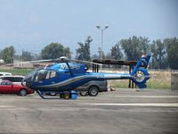 N123PD @ CNO - Parked on the southside - by Helicopterfriend