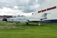101021 @ CYYC - 1957 McDonnell CF-101B Voodoo, c/n: 499 ar Aero Space Museum of Calgary