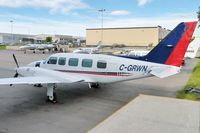 C-GRWN @ CYYC - at Calgary - by Terry Fletcher