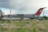 N509XJ @ CYYC - Derelict at Calgary
