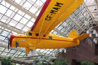 C-FMAM - Hangs from the ceiling of the Suncor Energy Centre in Downtown Calgary - by Terry Fletcher