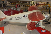 CF-AZM - At AeroSpace Museum of Calgary