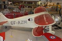 CF-AZM - At AeroSpace Museum of Calgary