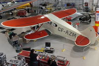 CF-AZM - At AeroSpace Museum of Calgary - by Terry Fletcher