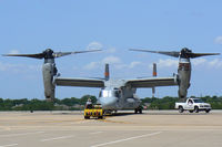 N204TR @ GKY - MV-22 Osprey at Arlington Municipal - Undergoing intake modification testing for the USMC - by Zane Adams