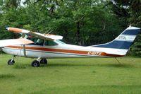 C-GITX @ CYBW - 1965 Cessna 182H, c/n: 18255854 - by Terry Fletcher