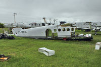 C-FMOL @ CYBW - Remains of 1971 Dehavilland DHC-6 SERIES 300, c/n: 303 - ex CAF13801 - by Terry Fletcher