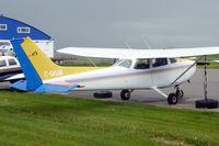 C-GJHM @ CYBW - 1981 Cessna A185F, c/n: 18504203 - by Terry Fletcher