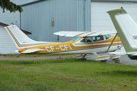 CF-CFI @ CYBW - 1973 Cessna 182P, c/n: 18262663 - by Terry Fletcher