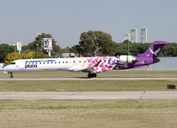CX-CRD @ SABE - Landing on RWY 13. - by Jorge Molina
