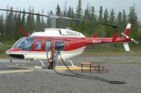 C-FJCH @ CEW9 - At Canmore Municipal Heliport Heliport , Alberta - by Terry Fletcher