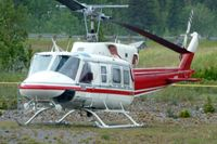 C-FAHK @ CEW9 - At Canmore Municipal Heliport Heliport , Alberta - by Terry Fletcher