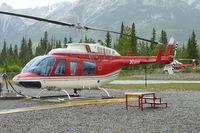 C-GALH @ CEW9 - At Canmore Municipal Heliport Heliport , Alberta