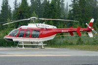 C-FALF @ CEW9 - At Canmore Municipal Heliport Heliport , Alberta - by Terry Fletcher