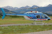 C-GHPO @ CFE7 - Kananaskis Village Helistop Airport - by Terry Fletcher