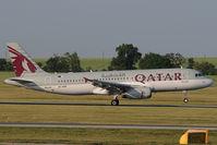 A7-AHP @ LOWW - Qatar Airways Airbus 320 - by Dietmar Schreiber - VAP