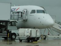 F-HBXK @ LFBD - bad weather for departure to Lille Lesquin - by Jean Goubet-FRENCHSKY