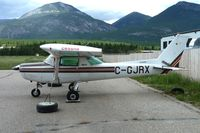 C-GJRX @ CAA8 - 1981 Cessna 152, c/n: 15284904 at Invermere - by Terry Fletcher