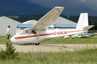 C-GIEW @ CAA8 - 1968 Schweizer SGS 2-33, c/n: 136 at Invermere - by Terry Fletcher