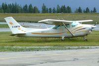 C-GWTU @ CYXC - 1975 Cessna 182P, c/n: 18263903 - by Terry Fletcher