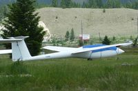C-GXML @ CAA8 - 1977 Brasov IS-28B2, c/n: 77 at Invermere - by Terry Fletcher