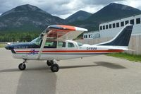 C-FRVM @ CAA8 - 1964 Cessna 206, c/n: 206 0100 at Invermere - by Terry Fletcher