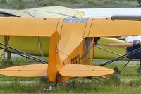 CF-STK @ CYXC - 1946 Piper J3C-65S, c/n: 17489 - by Terry Fletcher