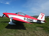 G-DAME @ EGBT - Vans homebuilt at Turweston fly-in - by Simon Palmer