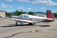 N252XM @ COE - 1986 Mooney Aircraft Corp. M20K, c/n: 25-1026
