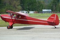 N39973 @ SZT - 1946 Taylorcraft BC12-D, c/n: 6632 - by Terry Fletcher