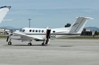 N454DC @ GEG - Beech B200, c/n: BB-995 at Spokne Int