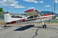 N185JF @ COE - 1972 Cessna A185E, c/n: 18502073