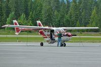 N9CS @ 65S - 1973 Cessna T337G, c/n: P3370122 at Bonners Ferry