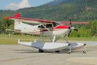 N6167N @ SZT - 1981 Cessna A185F, c/n: 18504303 - by Terry Fletcher