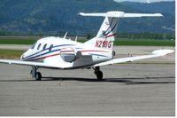 N218G @ COE - 2008 Eclipse Aviation Corp EA500, c/n: 000197