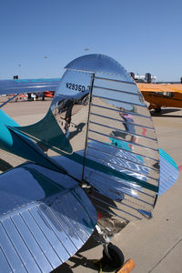N2953D @ FTW - Beautiful Cessna 170 at the Meacham Field open house, 2012
