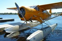 CF-DTL - CF-DTL dockside in Red Lake, ON during Norseman Days 2012 (July 20, 2012) - by Jayme Gamble, CKDR Raio