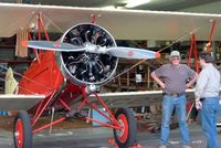 N2937 @ SFF - Pilots ,Jim Miller and Addison Pemberton ,and the 