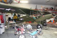N135PC @ SFF - Ex USAF 53-7731 Piper L-21B at Spokane Felts Field - by Terry Fletcher