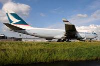 B-HUH @ EHAM - Cathay Pacific Cargo - by Martin Nimmervoll