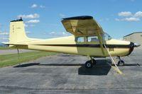 N8687B @ COE - 1957 Cessna 172, c/n: 36387