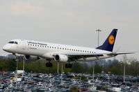 D-AEBA @ EGBB - Lufthansa CityLine - by Chris Hall