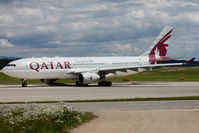 A7-ACJ @ LSGG - Taxiing to departure in 05 for Doha
