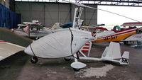 16NO @ LHBS - Budaörs Airport hangar - by Attila Groszvald-Groszi